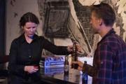 VAEFF bar stocked with Brooklyn Brewery beers.