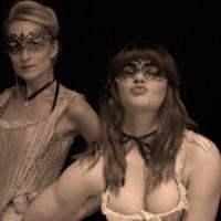 Shea Davies as a Courtesan and Joie Nouveau a Scarlet Woman