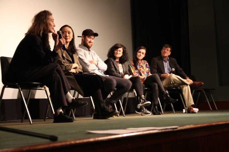 Maria Burns, Miao Hao, William Bentley, and Soda_Jerk talk about their films with Mark Alpert.