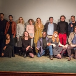 Artists and Team at Tribeca Film Center